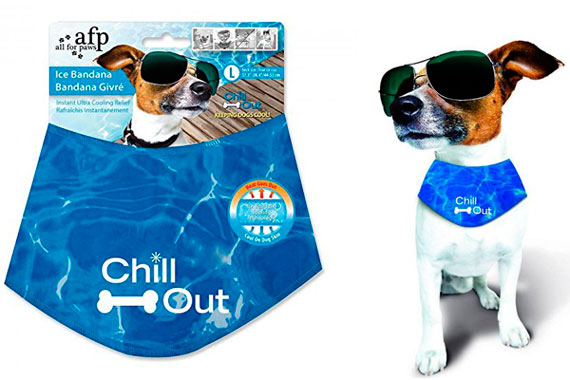 ALL FOR PAWS Chill Out Ice Bandana: photo