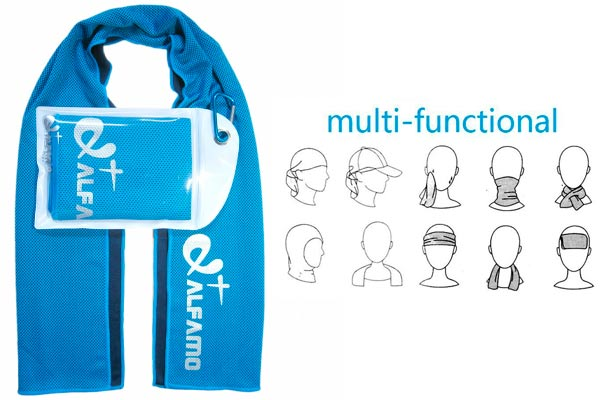 Alfamo Cooling Towel: photo