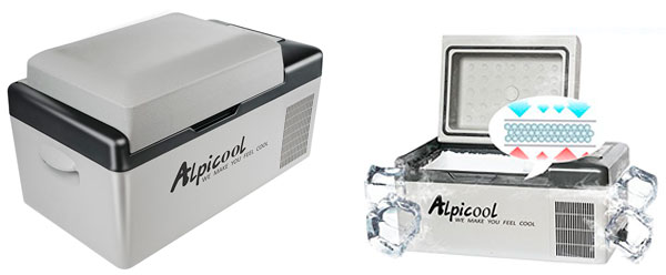 Alpicool C20 Portable Refrigerator: photo