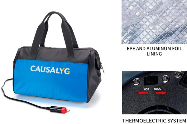 Argus Le Causalyg Electric Car Cooler: photo