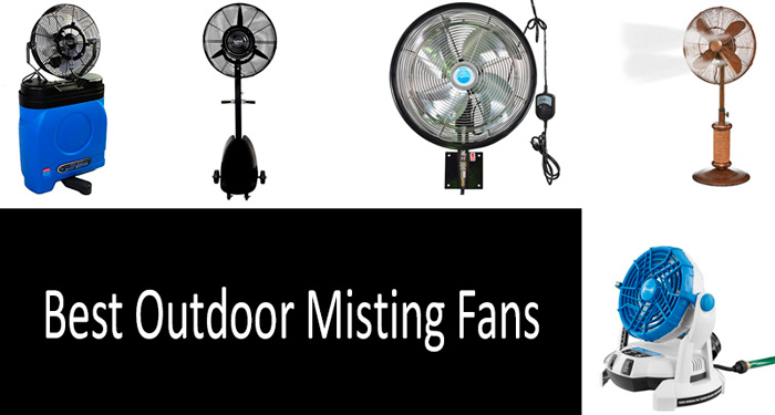 TOP 8 Best Outdoor Misting Fans | Buyer's Guide 2019