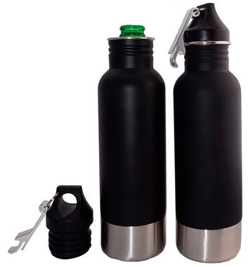 Bottle Armour Bottle Insulator with Bottle Opener: photo