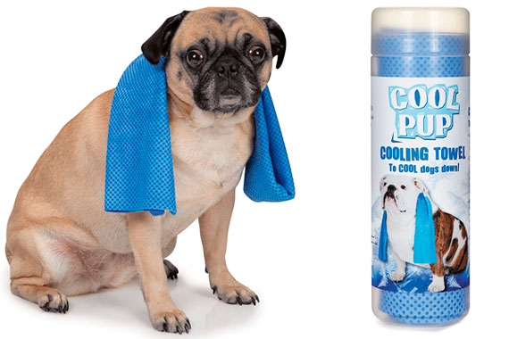 Cool Pup Dog Cooling Pet Towel: photo