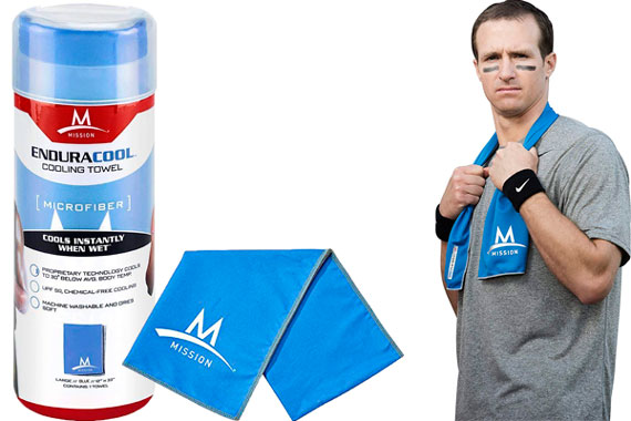 Mission Enduracool Microfiber Cooling Towel: photo