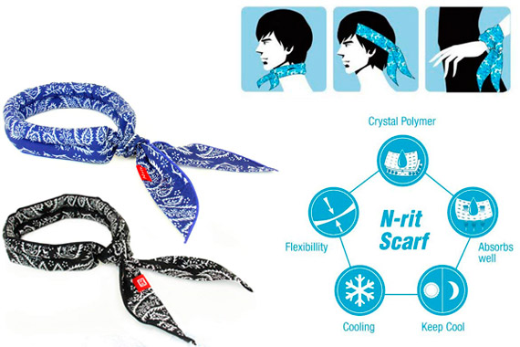 N-rit Cooling Scarf: photo
