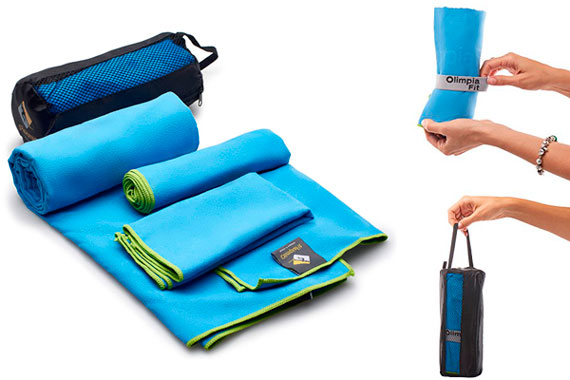 OlimpiaFit Microfiber Towels: photo
