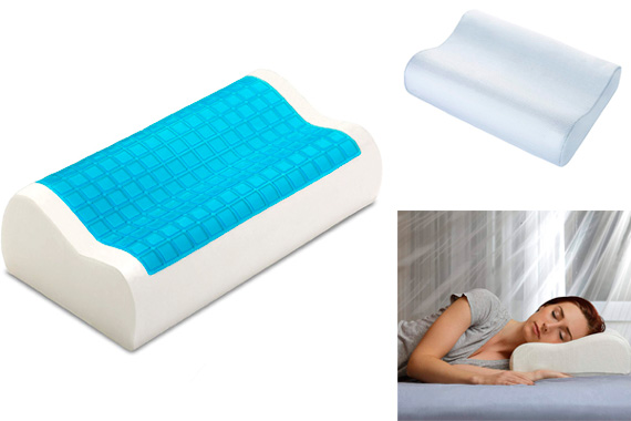 PharMeDoc Contour Memory Foam Pillow: photo