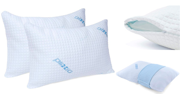 Plixio Shredded Foam and Bamboo Pillow: photo