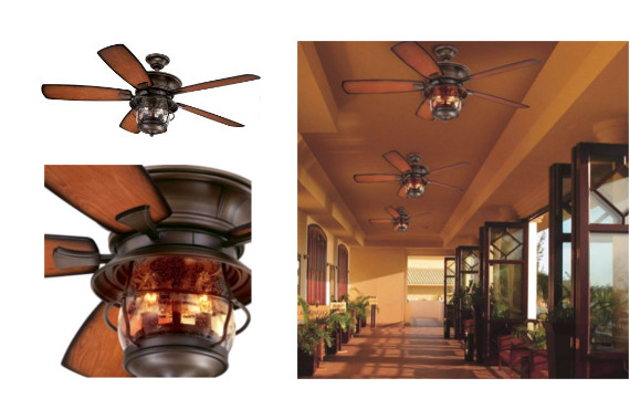 Westinghouse Indoor/Outdoor Ceiling Fan: photo